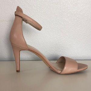 Vince Camuto Nude Strappy Heels